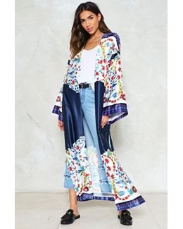 Grow And Behold Floral Kimono Grow And Behold Floral Kimono
