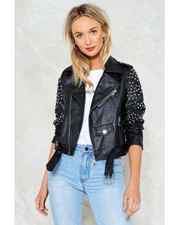 Honeymoon Vegan Leather Jacket Honeymoon Vegan Leather Jacket