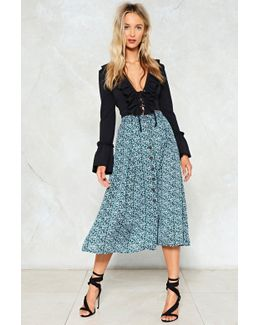 Search High And Grow Floral Skirt Search High And Grow Floral Skirt