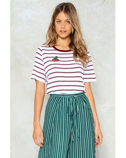 Cherry Oh Baby Striped Tee Cherry Oh Baby Striped Tee
