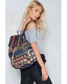 Tapestry Vintage Look Backpack