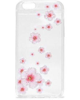 Floral Clear Cell Cover Iphone 6 Floral Clear Cell Cover Iphone 6