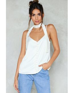 For The Neck Of It Satin Cami For The Neck Of It Satin Cami