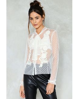 Call The Dots Mesh Top Call The Dots Mesh Top