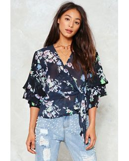 Had It Up To Tier Floral Top Had It Up To Tier Floral Top