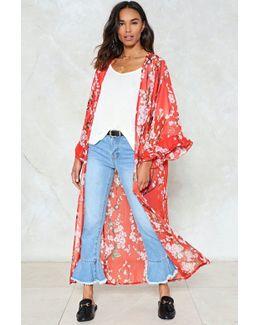 Any Way At All Floral Kimono Any Way At All Floral Kimono