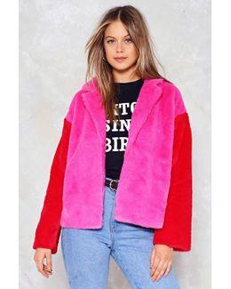 Feel On Baby Faux Fur Jacket Feel On Baby Faux Fur Jacket
