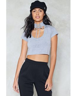 Choker Crop Top Choker Crop Top