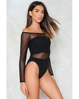 See It Coming Mesh Bodysuit See It Coming Mesh Bodysuit