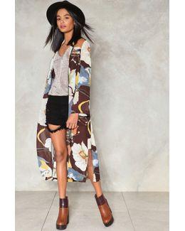 Love Minus Zero Floral Kimono Love Minus Zero Floral Kimono