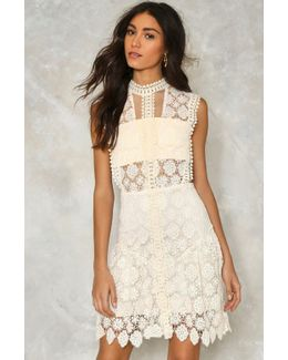Laguna Crochet Lace Dress