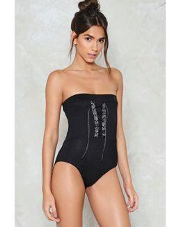 Don't Speak Strapless Bodysuit Don't Speak Strapless Bodysuit