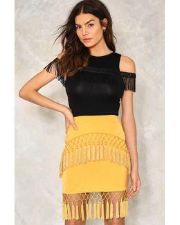 Social Club Tassel Skirt Social Club Tassel Skirt