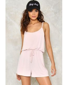Strappy Playsuit Strappy Playsuit