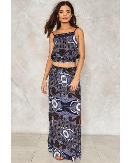 Printed Maxi Skirt Printed Maxi Skirt