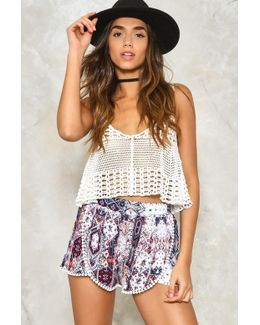 Mixed Emotions Tassel Shorts Mixed Emotions Tassel Shorts