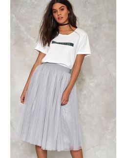 Tulle Cool For Rules Midi Skirt