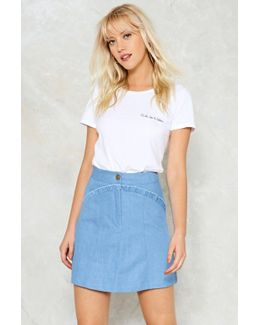 Form A-line Skirt Form A-line Skirt