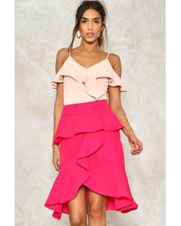 Ruffle Round Skirt Ruffle Round Skirt
