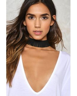 Fringe In High Places Choker