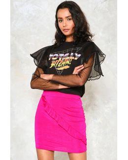 Ruffle Mini Skirt Ruffle Mini Skirt