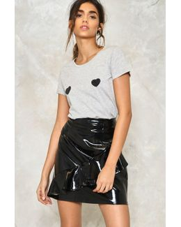 Gimme A Shine Ruffle Skirt Gimme A Shine Ruffle Skirt