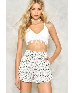 Summertime Sadness Floral Shorts Summertime Sadness Floral Shorts