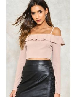 Icing On The Cake Crop Top Icing On The Cake Crop Top