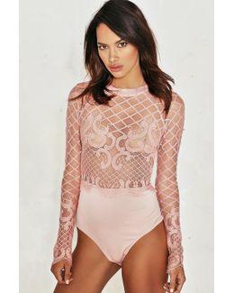 Grace Crochet Lace Bodysuit