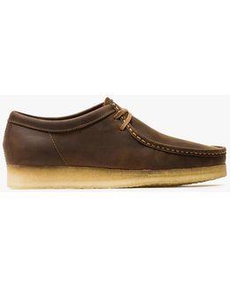 Wallabee Beeswax Leather Chukka Boots