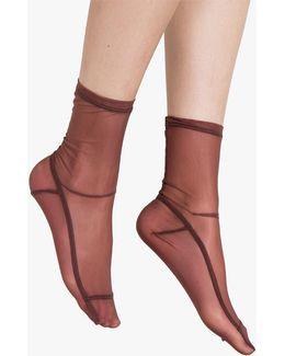 Mocha Solid Socks