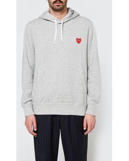 Play Hooded Sweatshirt In Grey