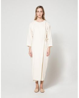 Folding Jumper In Cream