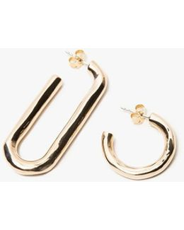 Deconstruct Hoops In Brass