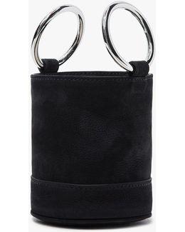 Bonsai 15 Cm Bag In Black Nubuck