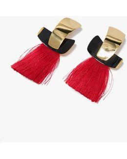 Totem Tassel Earrings