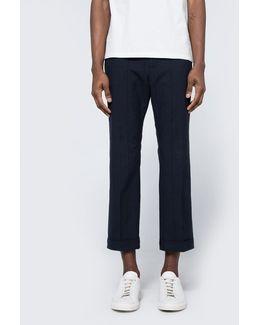 Cotton Box Check Pants