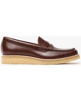 Burcott Loafer In Bordeaux Leather