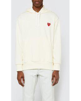 Play Hooded Sweatshirt In Ivory
