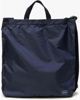 Flex 2way Shoulder Bag In Navy