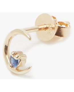Moon Ray Studs In Sapphire