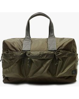 Force 2way Duffle Bag In Olive