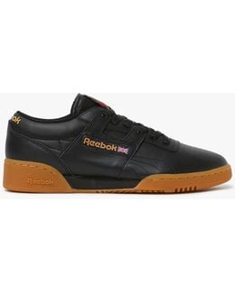 Workout Low Gum Sole In Black