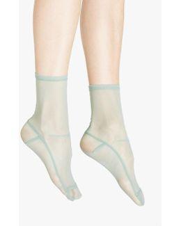 Mint Mesh Socks