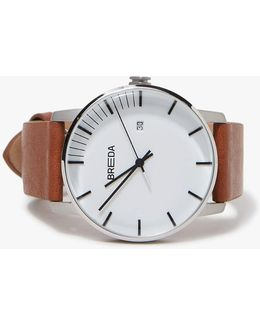 Phase Watch - Silver/brown