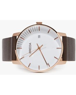 Phase Watch - Rose Gold/brown