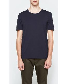 Garment Dyed Tee In Midnight