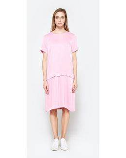 Fusion Dress In Bubblegum