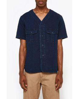 N.c. Ss Shirt In Indigo