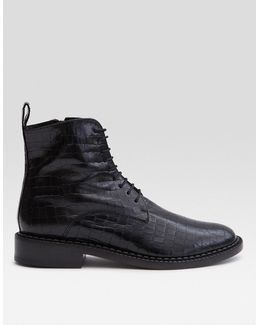 Jace Boot In Black Cocco